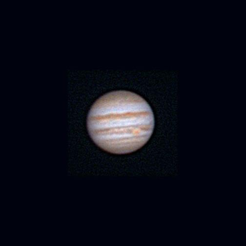 Amateur telescope jupiter